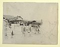 Drawing, View of the Bridge and Houses at Honda, Colombia, 1853 (CH 18203217).jpg