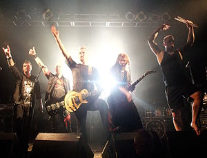 Dream Evil - Dream Evil at The Electric Ballroom in 2010