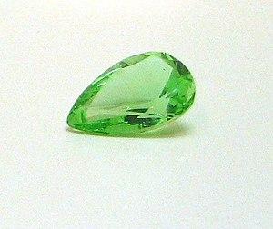 Dresden Green Diamond - Glass copy of the Dresden Green