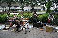 Drummers, Yoyogi Park, Tokyo (2562124110).jpg