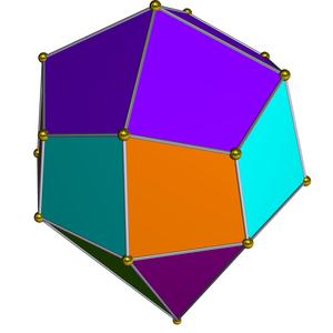 Elongated square cupola - Image: Dual elongated square cupola
