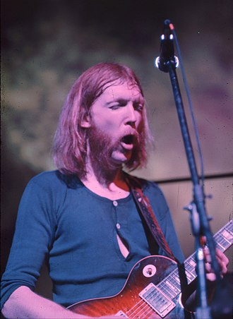 1971 in music - Guitarist Duane Allman died on October 29