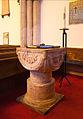 Dublin Cornmarket St. Audoen's Church North Nave Baptismal Font II 2012 09 28.jpg