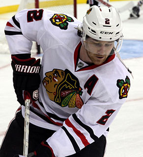 Duncan Keith Canadian professional ice hockey defenceman