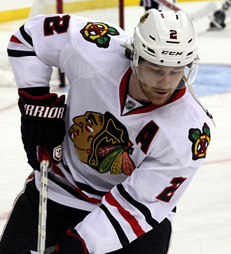 Duncan Keith - Keith with the Chicago Blackhawks in 2014
