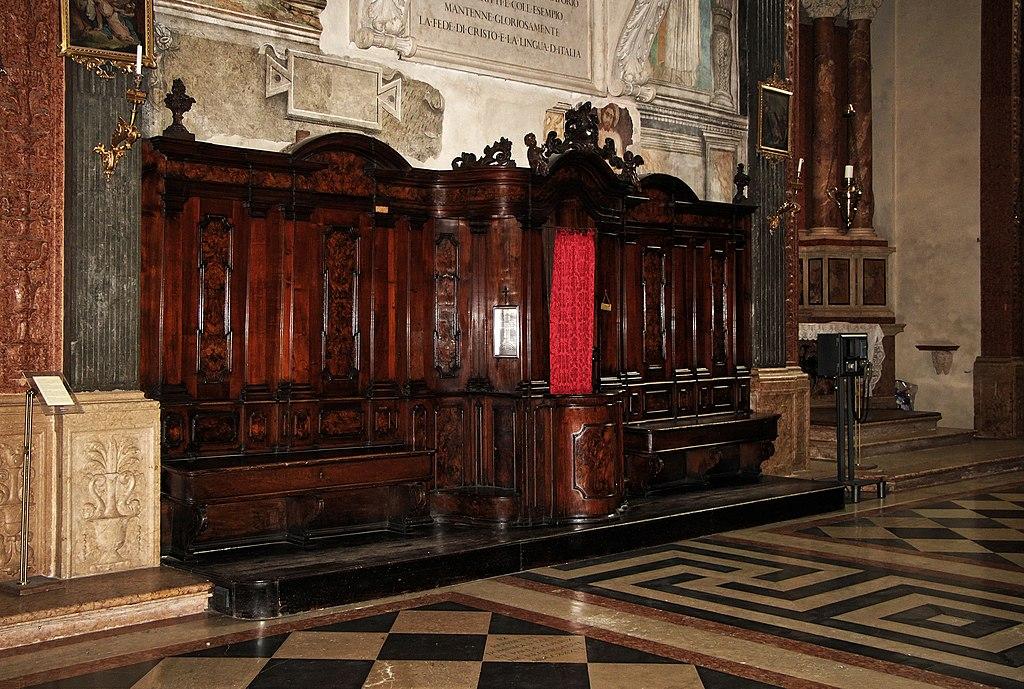 Duomo Santa Maria Matricolare - Verona - Confessional box.jpg