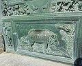 Durer's Rhinoceros on Cathedral Door, Pisa C17th.jpg