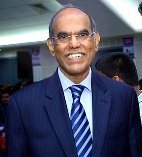 Duvvuri Subbarao Indian economist, central banker, and civil servant.