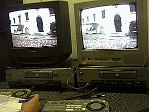 Technology of television - Digital video equipment in an edit suite