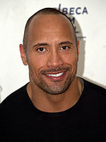Dwayne Johnson at the 2009 Tribeca Film Festival