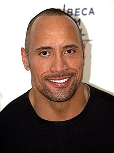 "Dwayne ""The Rock"" Johnson, vuonna 2009."