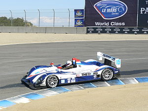 Dyson Racing - Dyson Racing's RS Spyder competing at Laguna Seca.