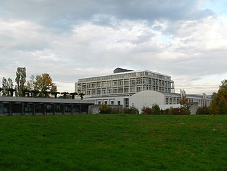 Swiss Institute of Bioinformatics - The Génopode building of the University of Lausanne hosts the Center for Integrative Genomics of the University of Lausanne and the central administration of the Swiss Institute of Bioinformatics.
