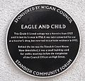 Eagle and Child plaque, Standish.jpg