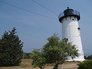 National Register of Historic Places listings in Dukes County, Massachusetts - Image: East Chop Lighthouse