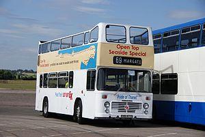 East Kent bus O977 (RVB 977S), 2010 North Weald bus rally.jpg