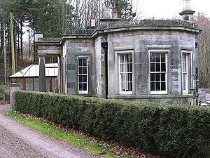 James Balfour (died 1845) - The east lodge of Balfour's Whittingehame estate, possibly also designed by Robert Smirke