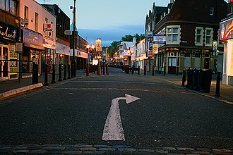 Bedminster, Bristol - A nocturnal view along East Street