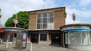 Eastcote tube station - Image: Eastcote tube station