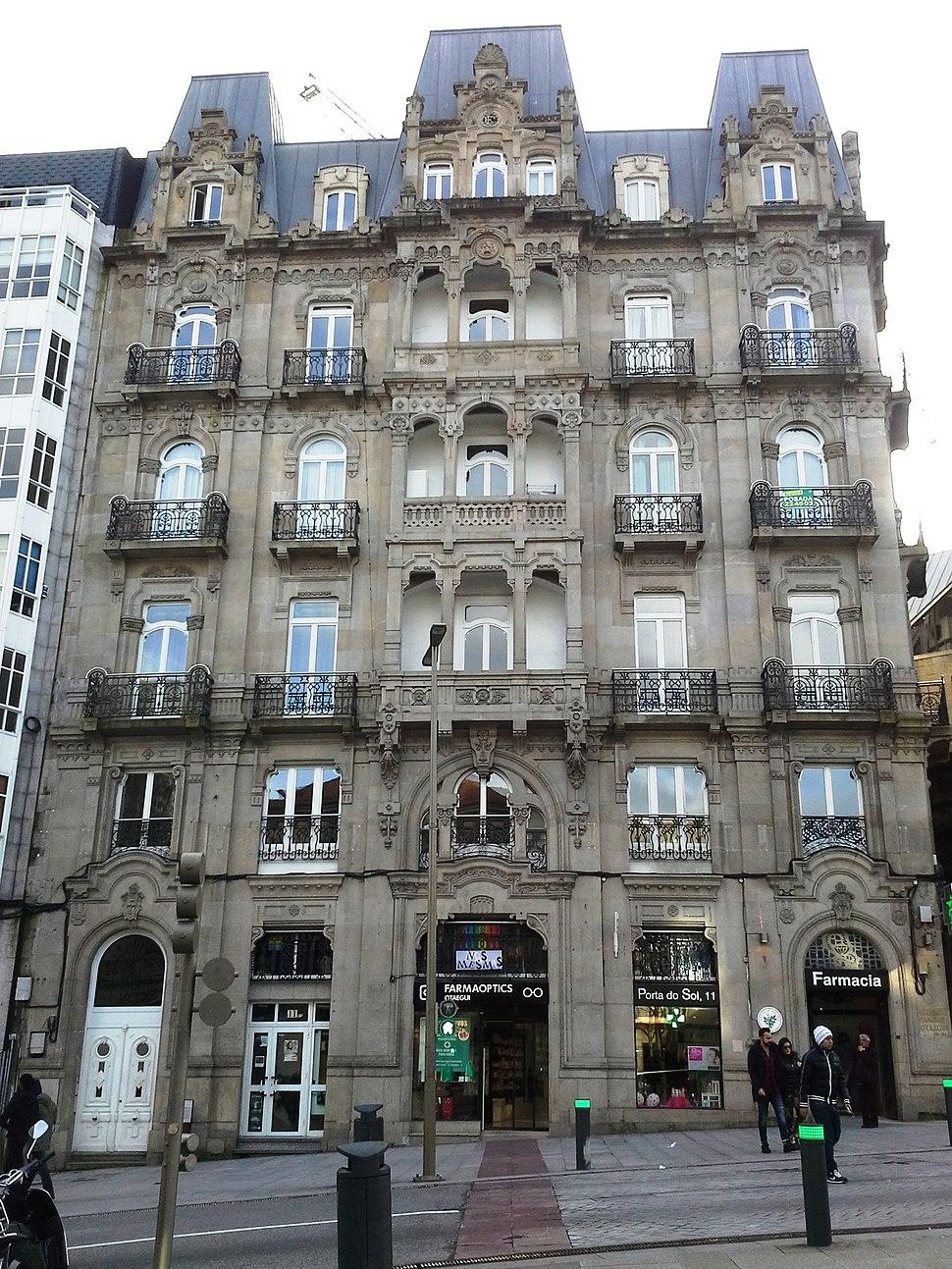 Edificio Pardo Labarta, Jenaro de la Fuente