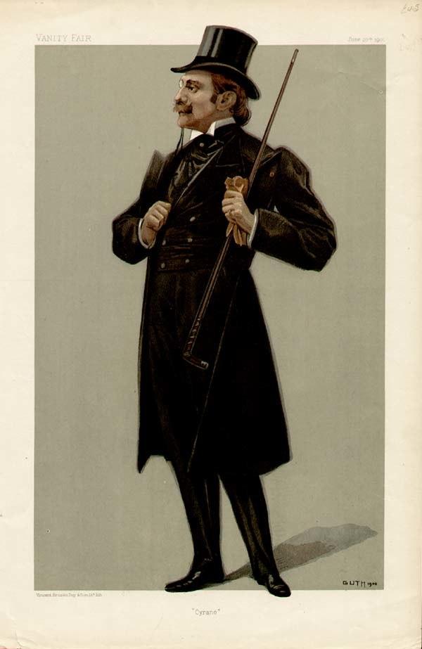 Edmond Rostand Vanity Fair 1901-06-20