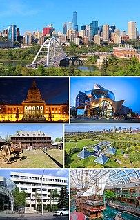 Edmonton Provincial capital of Alberta in Canada