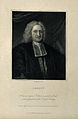 Edmund Halley. Stipple engraving by W. T. Fry after M. Dahl. Wellcome V0002532.jpg