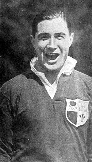 Edward Taylor (rugby union) - Image: Edward Taylor British Lions 1927