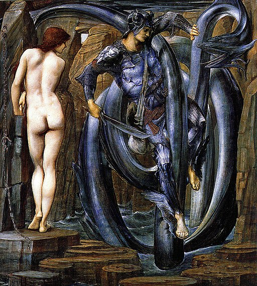 Edward Burne-Jones - Perseus