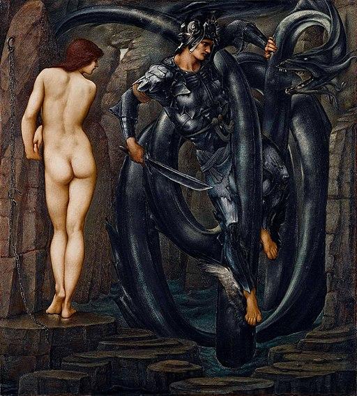 Edward Burne-Jones - Perseus