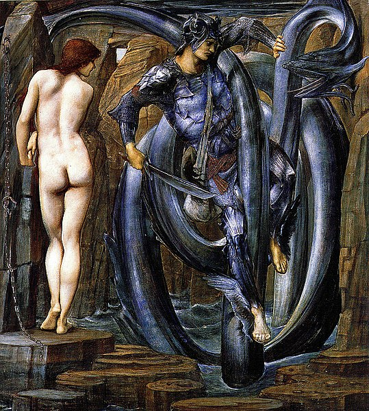 Inadaptée chronique OU chronique d'une inadaptée. - Page 4 539px-Edward_Burne-Jones_-_Perseus