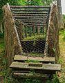 Eendenkooi De Grote Otterskooi, gelegen in provincie Overijssel. Einde van een vangpijp 01.jpg