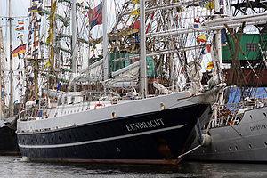 Eendracht (1989 ship) - Eendracht at Szczecin 2007.