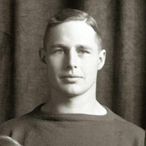 Efton James - Efton James cropped from 1913 Michigan team portrait