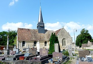 Guerny Commune in Normandy, France