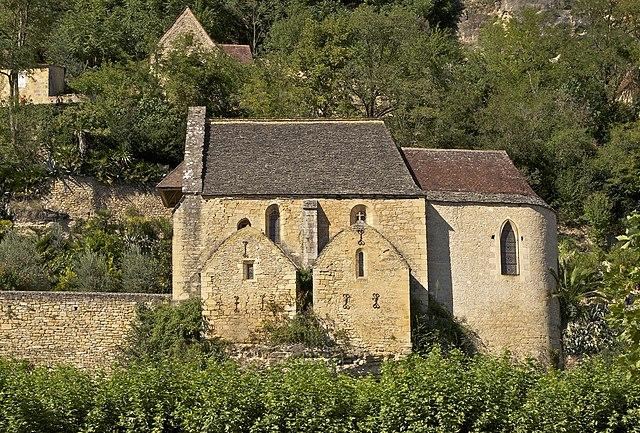l'église de la Roque Gageac - La Roque-Gageac (Ла-Рок-Гажак)