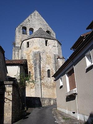 Ajat - Image: Eglise Saint Martin d'Ajat (5)