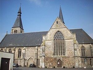 Étrépagny - Image: Eglise d'Etrépagny