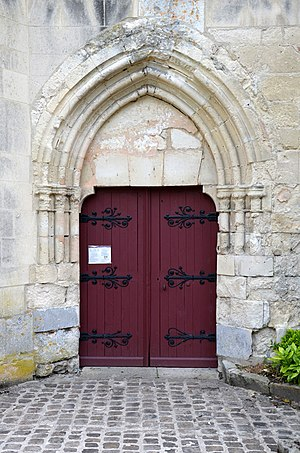 Barzy-sur-Marne - Entrance to the church