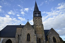 The church in Charenton-du-Cher