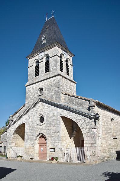 Eglise de Fontanes - 20140926 - Vue globale