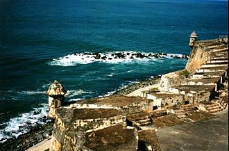 Castillo San Felipe del Morro - One of many iconic garitas