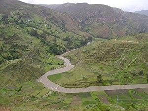 Lauricocha Province - Marañón River in the Lauricocha Province