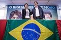 """Eleições presidenciais brasileiras em 2018 - Lançamento da chapa """"O Povo Feliz de Novo"""" (PT, PCdoB e PROS).jpg"""