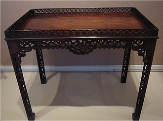 Thomas Elfe - Image: Elfe mahogany china table