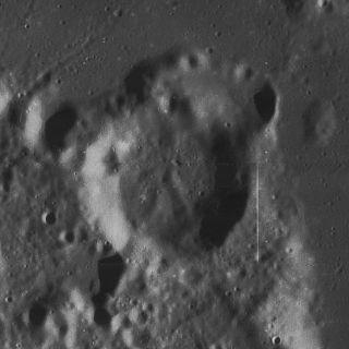 Elger (crater) Lunar impact crater
