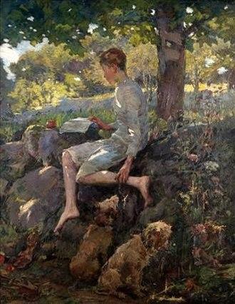 Elizabeth Forbes (artist) - Image: Elizabeth Forbes The Half Holiday