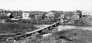 James, Ontario - Elk Lake, c. 1910