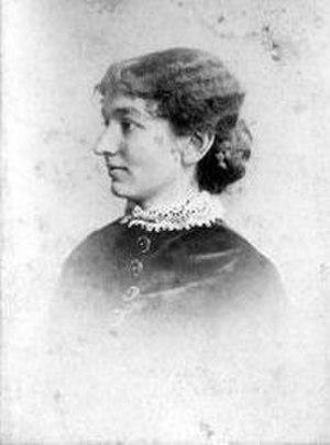 Ellen Gates Starr - Ellen Gates Starr, ca 1890