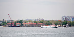 Ellis Island Immigrant Hospital - Ellis Island Immigrant Hospital